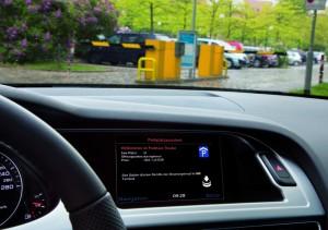 """Audi Parkplatzassistent im Projekt """"travolution"""""""