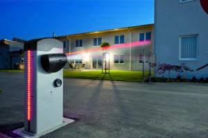 Zufahrtssicherung mit der elektromechanischen 24-Volt-Schranke B605 von FAAC