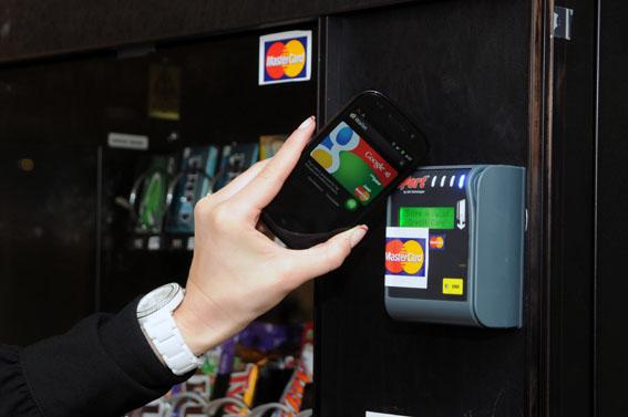Google Wallet forciert das kontaktlose Bezahlen