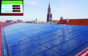 Gute Umweltbilanz: Das renovierte Parkhaus Austerlitz in Straßburg.