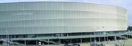 Neues Stadion Breslau, Polen Foto: StoCretec GmbH