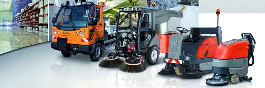 Hako ist einer der weltweit führenden Hersteller von Reinigungsmaschinen.
