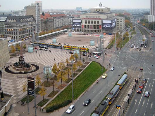 Mit der Tiefgarage Augustusplatz übernimmt Q-Park sein zweites Objekt in Leipzig.