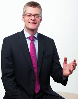 Hugo Rohner, Vorstandsvorsitzender von SKIDATA, freut sich auf die weitere Zusammenarbeit mit Sentry, an dem das österreichische Unternehmen nun eine Mehrheitsbeteiligung hat.