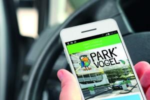"""Die App """"Parkvogel® Pay"""" soll dem Parkhaus-Kunden das Leben einfacher machen."""