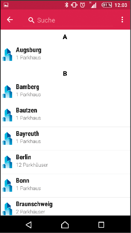 Die App der Würzburger Stadtverkehrs-GmbH