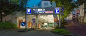 Die von der OPG Center-Parking betriebene Tiefgarage in Osnabrück punktet mit guter Befahrbarkeit und Benutzerfreundlichkeit.