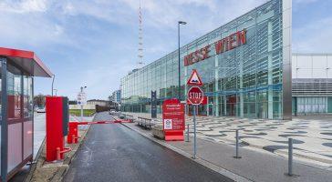 An der Messe Wien wird mit Scheidt & Bachmann geparkt