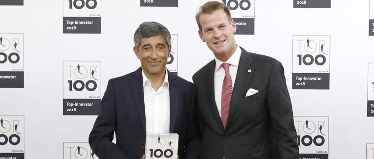 PARK ONE erhält Auszeichnung als Top-Innovator