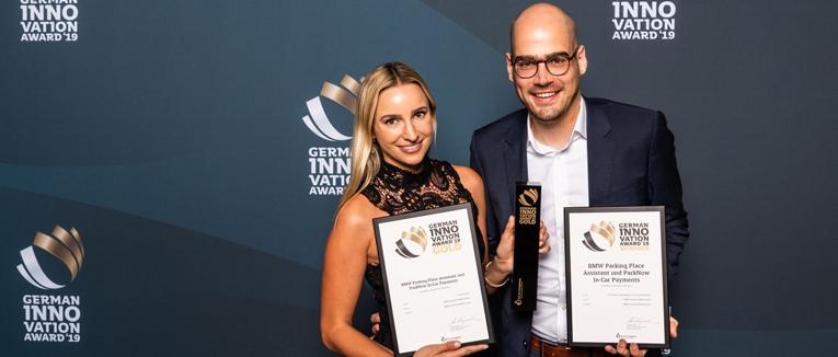 Service von ParkNow gewinnt German Innovation Award