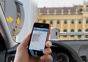 Parkgebühren mit dem Handy zahlen