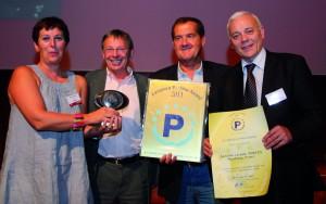 """EPA Award: Sieger der Kategorie """"Renoviertes Parkhaus"""" ist der Betreiber Parcus, der das Parkhaus Austerlitz im elsässischen Straßburg nach ökologischen Gesichtspunkten modernisiert hat."""