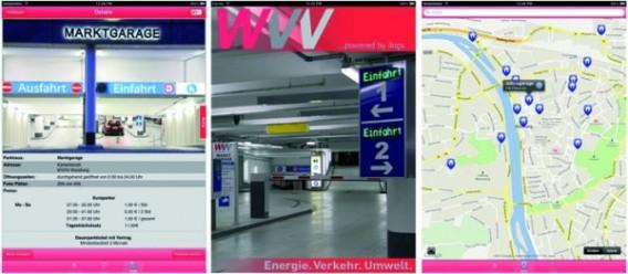 Screenshots der SVG-App