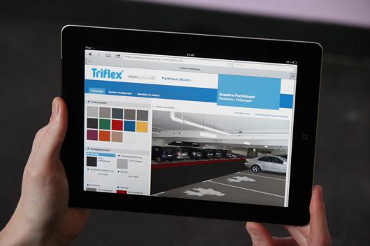 Mit einem Tablet lässt sich der Konfigurator auch vor Ort benutzen.