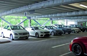 KÖSTER-PARKING, das Kompetenz-Center der Köster GmbH, realisierte das Parkhaus.    Foto: Köster