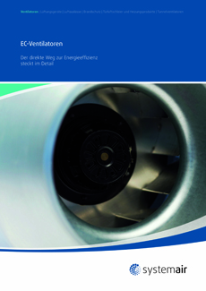 Systemair EC-Ventilatoren-Katalog