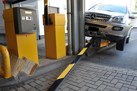 In einem Siegburger Parkhaus ereignete sich ein schwerer Unfall. Foto: siegburgaktuell