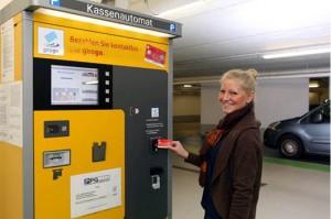 Parkgebühren an Automaten von Scheidt & Bachmann einfach und kontaktlos bezahlen