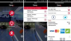 Ab sofort können Park-Infos und der Weg zum Parkplatz bei Q-Park via Smartphone abgerufen werden.