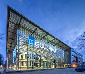 Die Goldbeck-Zentrale in Bielefeld.