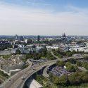 Koelnmesse legt den Grundstein für das neue Messeparkhaus Zoobrücke