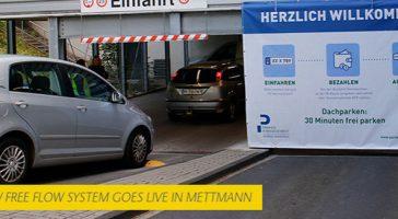 Free-Flow Parken:<br/> smart und berührungslos