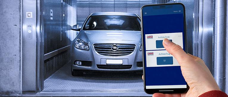 Die App von Lödige Industries ist Bluetooth basiert. Sie benötigt keine Internetverbindung. – Foto: Lödige Industries