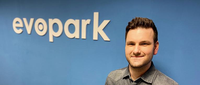 Christian Grzona ist Director Sales & Marketing bei evopark. – Foto: evopark